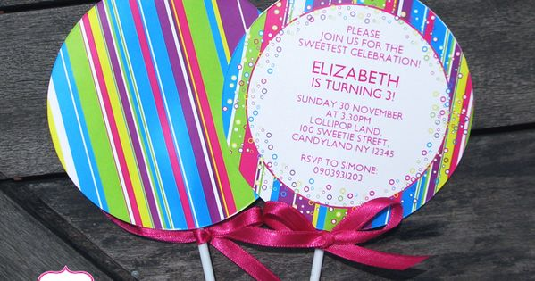 Candyland Party Printables, Invitations & Decorations ...