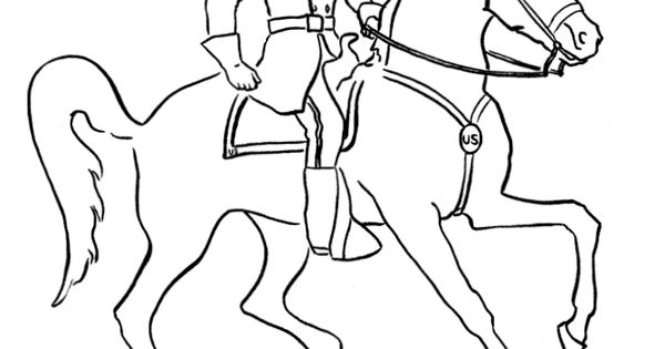civil war solders coloring pages - photo#26