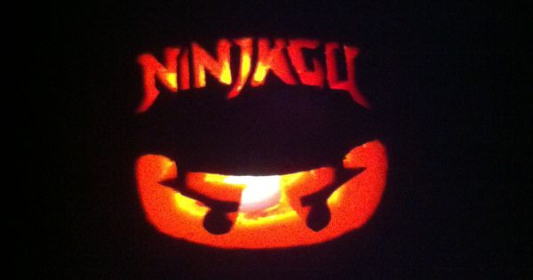 Ninjago pumpkin carving for kids! Just print out picture ...