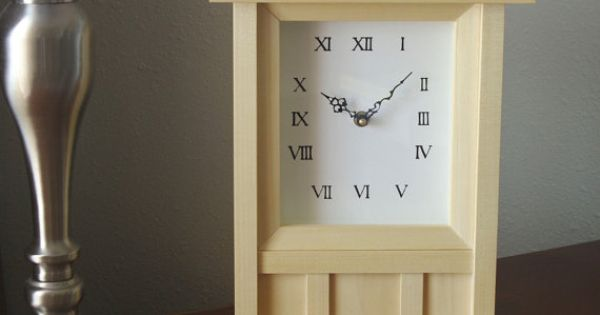 Wall Clock Or Table Clock Hand Crafted By