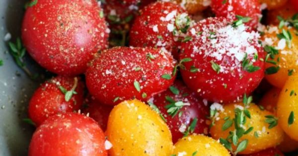 Butter Roasted Tomatoes | Recipe | Roasted Tomatoes, Tomatoes and ...