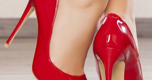 escarpins femme rouge taille 35 achat en ligne escarpins. Black Bedroom Furniture Sets. Home Design Ideas