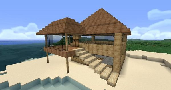 minecraft easy to build modern house