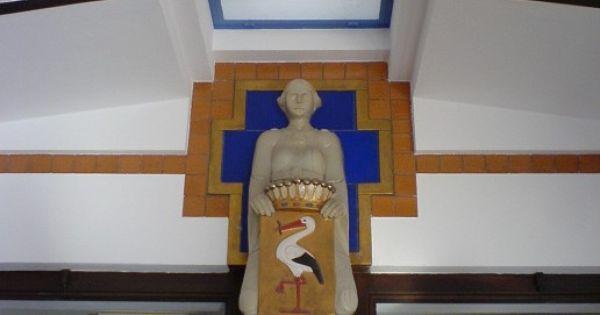 H p berlage gemeentemuseum den haag entreehal architect berlage pinterest entreehal den - Deco entreehal ...