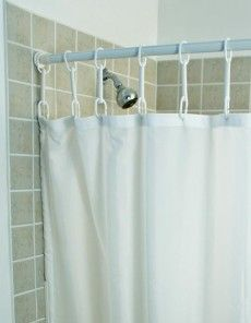 shower rings extra long shower curtain
