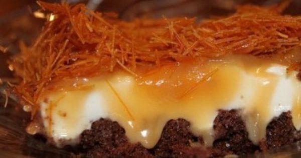 كيكة الزبادي بالشعيرية Ramadan Desserts Food Desserts