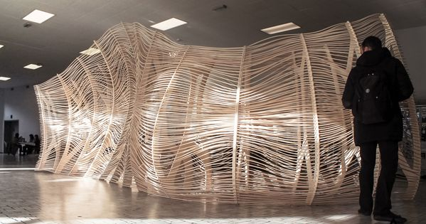 Digital Crafting, Act Lab, Politecnico di Milano | Weaving ...
