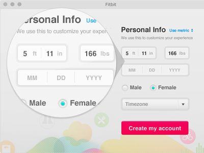 Personal Info Tool Design User Experience Design Web Design