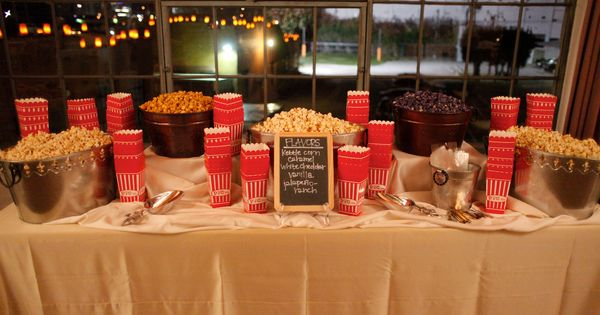 Popcorn Bar Great For Late Night Munchies Bowman