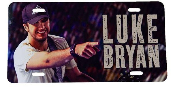Luke Bryan License Plate | Lukkkeeee Brrrryyyyaaaaannnnnnnn