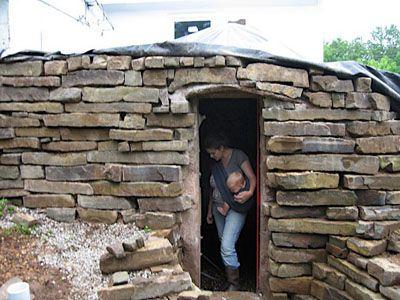 diy root cellar earthbag cellar such pinterest root cellar
