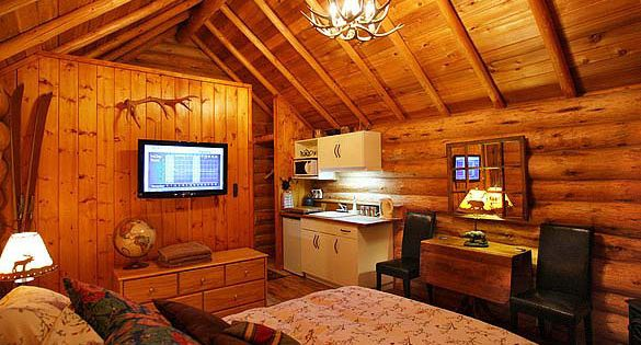 Banff Log Cabin Guesthouse Tiny Houses For Real Sized