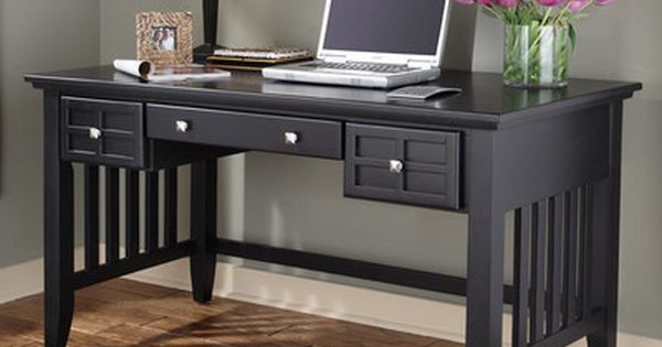Alcott Hill Lakeview Computer Desk With Keyboard Tray Finish Home Office Furniture Home Office Organization Home Office Desks