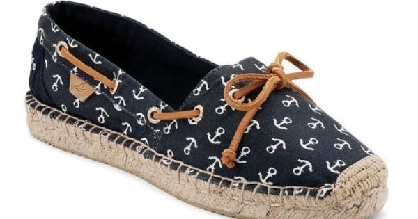 Sperry Top Sider Espadrilles Top Sider Shoes Navy