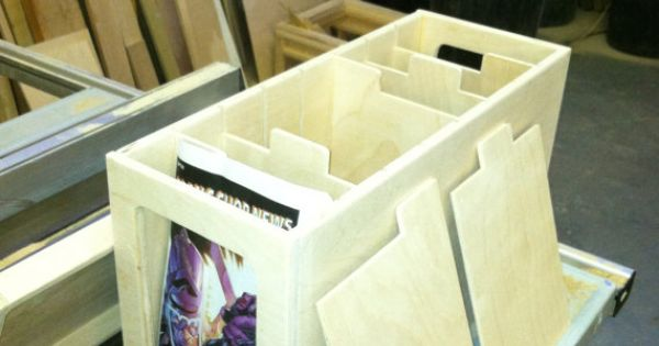 Make boxes just short enough to sit on book shelves for Comic book box shelves