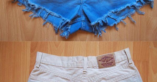 Cute ombré stud shorts
