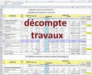 XLS GRATUIT ATTACHEMENT TÉLÉCHARGER DES TRAVAUX