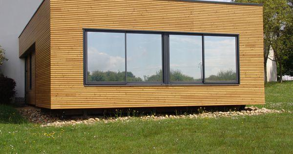 Module en bois d 39 extension de maison extenbois for Maison bois module