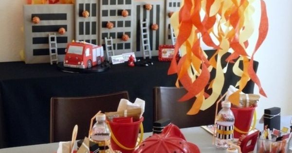 Firetruck, Fire Engine, Fireman, Birthday Party Ideas