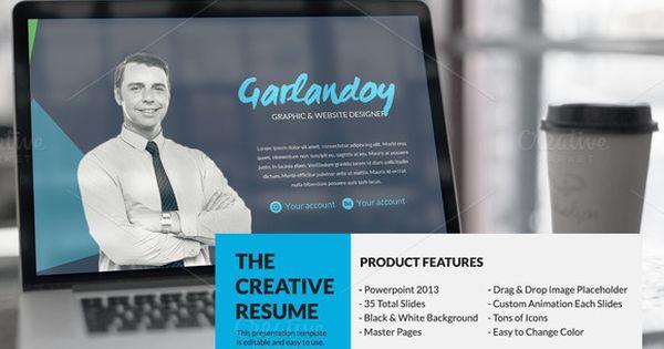 The Creative Resume Presentation @creativework247 Resume - resume presentation