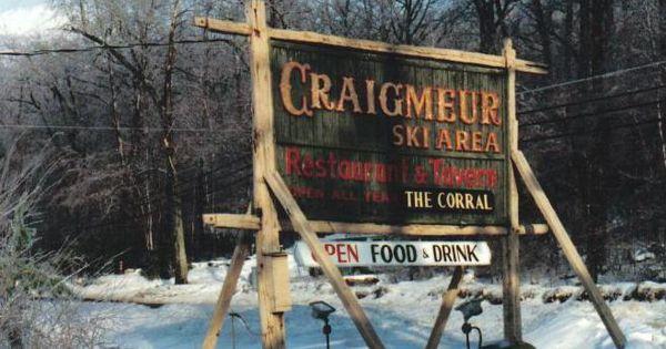 Craigmeur Ski Resort In Newfoundland Nj Vintage Passaic