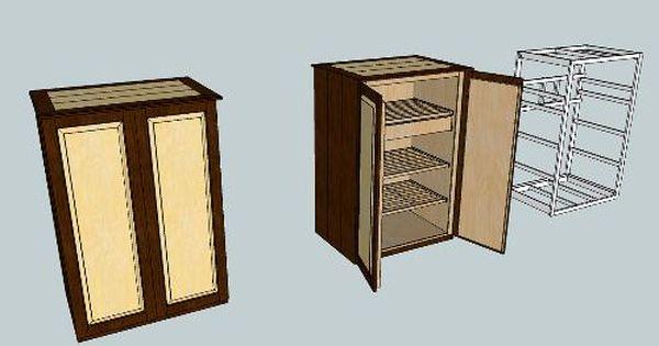3d Warehouse View Model Humidor Plans Humidor Furniture Plans
