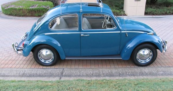 1965 Volkswagen Beetle A Nicely Restored Sunroof Bug