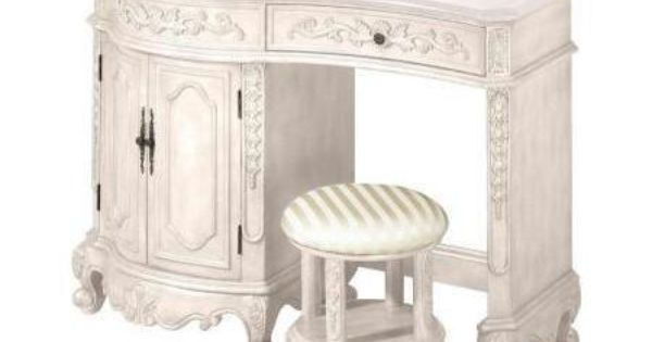 How Cute Is This Home Decorators Collection Winslow 35 In H X 48 In W Vanity In Ivory With