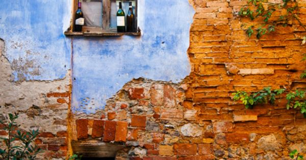 Italy - wine bottles