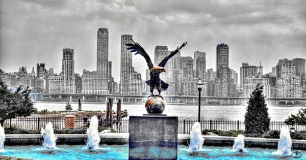 The Eagle Fountain Fountain Eagles Outdoor