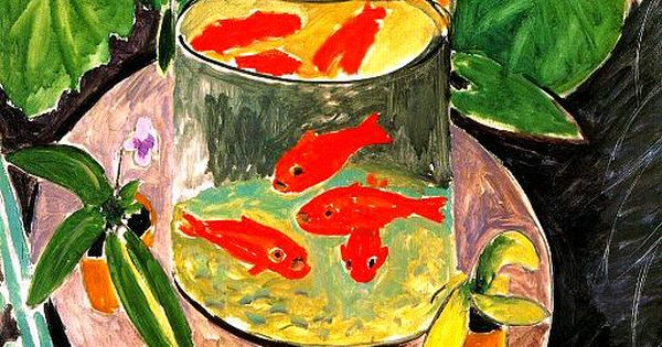 Henri Matisse Goldfish Collage