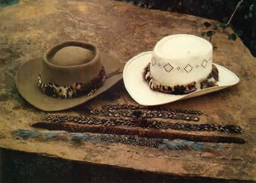 Fine Feather Hat Bands Do It Yourself Mother Earth News Hat Bands Feather Hat Western Hat Bands