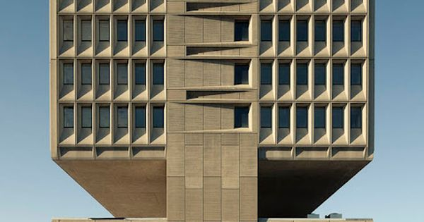 Pirelli building by Marcel Breuer, photographed by Ty Cole.