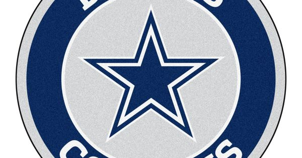 Roundel Mat Dallas Cowboys Dallas Cowboys Logo Cave