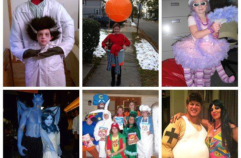 Homemade Halloween Costumes - a lot of DIY costume ideas! via @costume_works