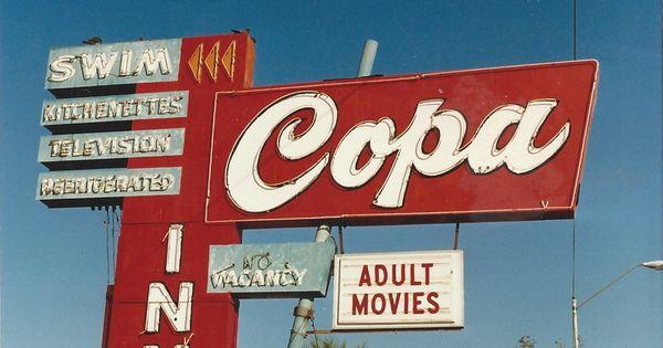 7 Copa Inn Van Buren St Phoenix Az Vintage Neon Signs Retro Sign Neon Signs