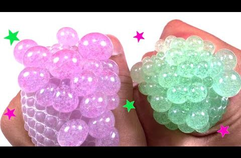 Squishy Slime Balls In Net Bag : DIY Squishy Stress Ball How to Make a Stress Ball Courtney Lundquist - YouTube Cool ...
