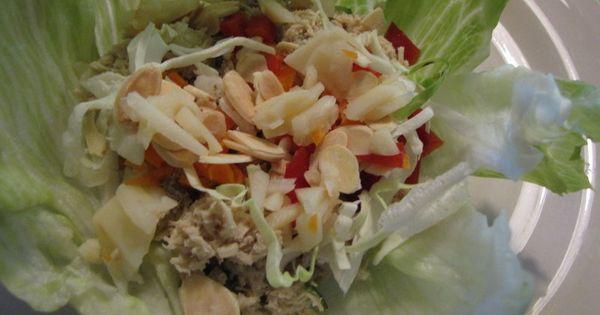 Chicken Lettuce Wraps | Healthy Eats | Pinterest | Wraps, Chicken ...
