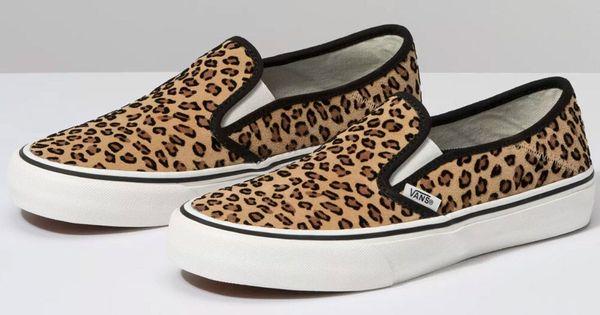 138 Decon SF Mini Leopard by vans shoes