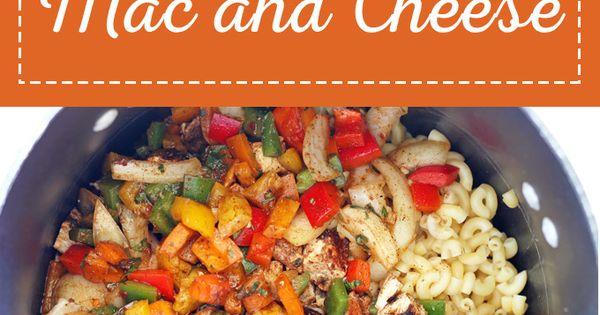 Fajita Mac and Cheese | Recipe | Mac, Mexican Appetizers and Cheese ...