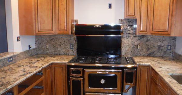 Exodus White Granite Kitchen Countertop Install For The