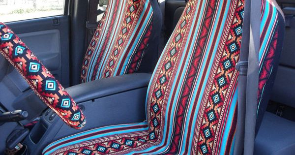 Reserved For Kenziesmom16 A Set Of Turquoise Rust Aztec