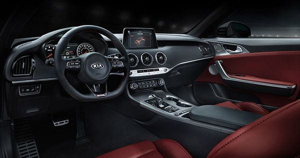 Stinger Interior Kia Stinger Kia Sports Sedan