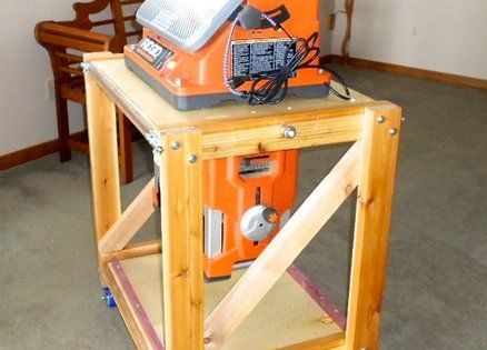 Another Flip Top Woodworking Stand Workshop Pinterest