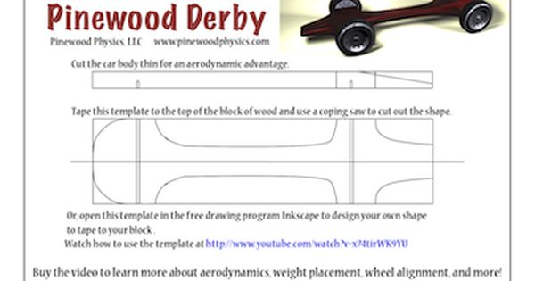bsa pinewood derby templates - pinewood derby templates customizable pinewood derby car