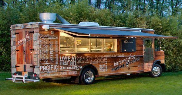 Barking frog food truck barking frog mobile kitchen hops for Food truck juice bar