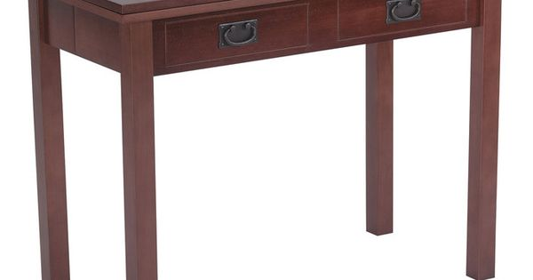 This converts from a sofa table to a card table to a full dining room table 3 tables in one - Console table that converts to dining table ...
