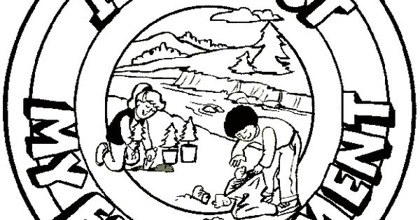 childrens coloring pages for respect - photo#29