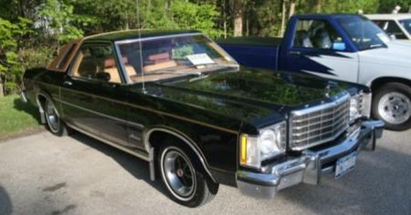 1980 Ford Granada Black After Wrecking My Sunbird I Eventually