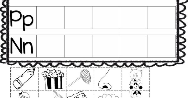 Handwriting worksheets, Cut and paste and Activities on Pinterest
